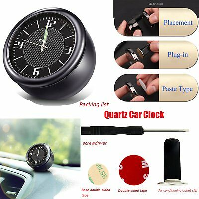 Quartz Car Clock for Smart Car Refit Interior Kit Decor Ornaments Luminous New