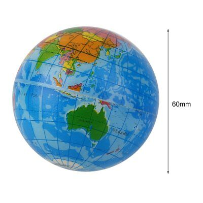 World map foam earth globe stress relief bouncy ball atlas geography world map foam earth globe stress relief bouncy ball atlas geography toy mu gumiabroncs Images