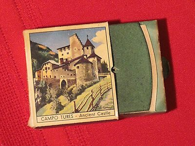 *** Campo Tures - Ancient Castle / Val Gardena Drawer Matchbox - Made in Italy