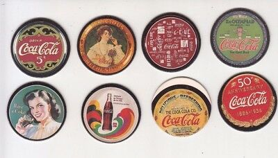 Coca Cola Collection Coke Cap Series 1-8  CircleTrading Cards