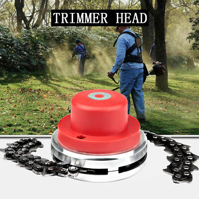 65Mn Trimmer Replace Head Coil Chain Brush For Garden Grass Trimmer Lawn Mower