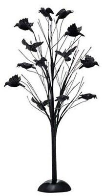 D56 SV Halloween Murder of Crows Tree BRAND NEW Free Shipping
