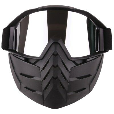 Tactical Face Mask Goggle Soft Bullet Dart Protective Mirror Face Mask for Nerf