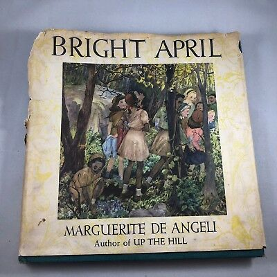 Bright April by Marguerite de Angeli (Hardcover, 1946, Signed)