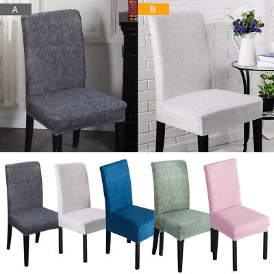 10pcs Stretch Dining Chair Covers Chair Seat Protector Slipcover Decor Spandex