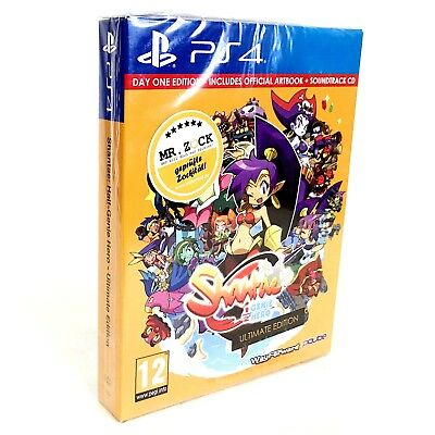 Shantae Half-Genie Hero - Ultimate Day One Edition - D1 - PS4 *nagelneu*
