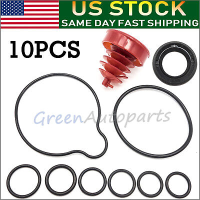 Power Steering Pump Seal Kit For Honda Accord Acura Integra Isuzu - Full 10 Pcs