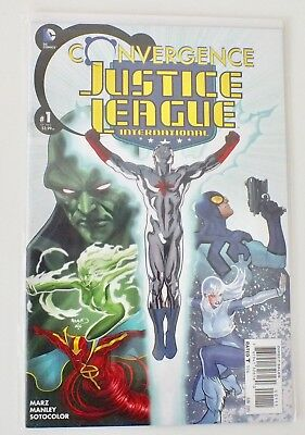 Convergence - Justice League - # 1 - Bagged & Boarded - DC  - 2015 - NM - (588)