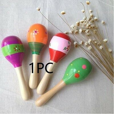 Baby Cute Kids Sound Music Gift Toddler Rattle Musical Wooden Intelligent Toys