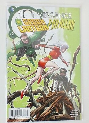 Convergence - Green Lantern - # 2 - Bagged & Boarded - DC  - 2015 - NM - (602)