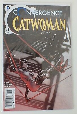 Convergence - Catwoman - # 1 - Bagged & Boarded - DC  - 2015 - NM - (605)