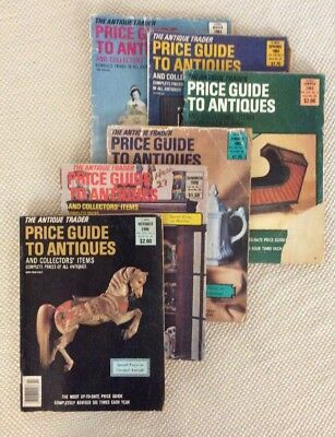 The Antique Trader 6 Magazine Lot Price Guide To Antiques
