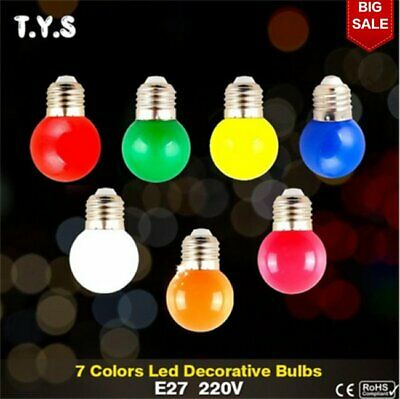 Colorful Fairy LED Lamp String Ball Steep Light Bulbs Party Patio Wedding Decor