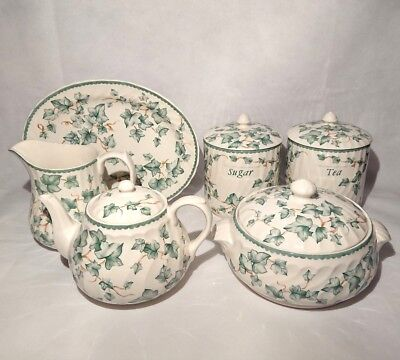 Vintage BHS British Home Stores Country Vine Pottery Collection