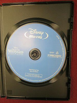 Walt Disney - The Little Mermaid Diamond Edition - BLU-RAY DVD ONLY