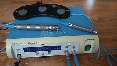Smith&Nephew 7205841 Dyonics Power Shaver Console EP1 Hand Piece & Foot Switch