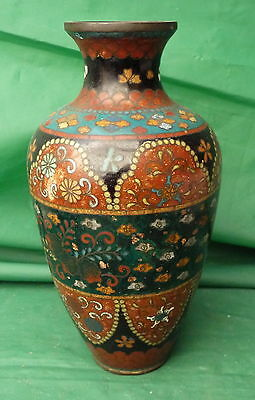 Pretty Vintage Antique Japanese Or Chinese Cloisonne Vase Display Collect