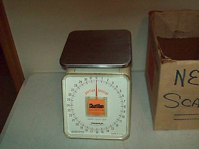 32 ounce Portion Control household scale vintage American made Chatillon no. F2