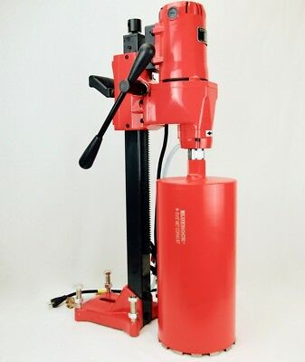 "BLUEROCK TOOLS Model 8"" Z-1 CORE DRILL CONCRETE CORING HIGH QUALITY"