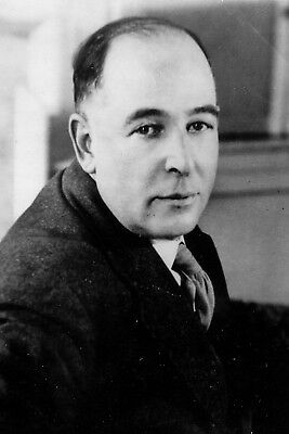 New 5x7 Photo: Clive Staples C.S. Lewis, Author of The Chronicles of Narnia