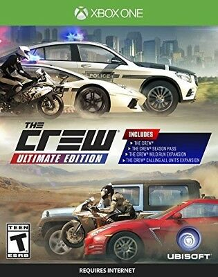 Crew Ultimate Edition (Game Misc Used Very Good)