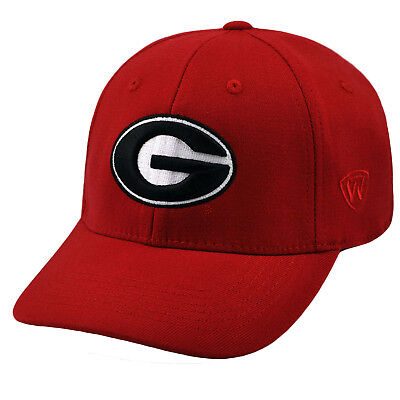 d8e9258285b Georgia Bulldogs NCAA One Size One Fit Wool Hat Cap UGA Top of the World  263809