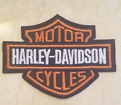 Harley Davidson Classic Logo Iron On Patch