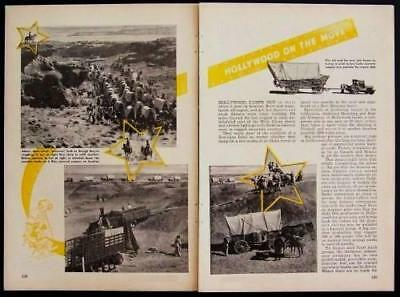 1947 Western Movies Hollywood Arizona Backlot pictorial