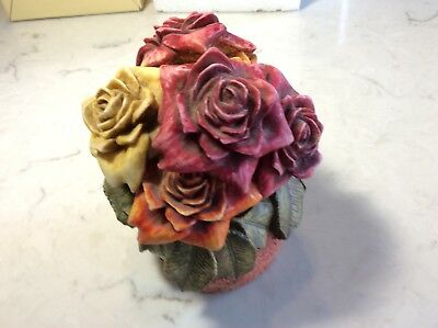 """Harmony Kingdom Lord Byron""""s Harmony Garden Rose Party Limited Rtd  Signed Miob"""