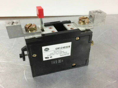 General Electric Ge CR124E028 Overload Relay