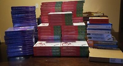 Lot of 50+ New PCI Network Adapter 10/100 Mbps 17 56k modems and more