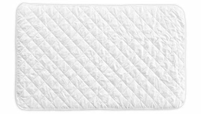 Crib Mattress Cover - Fits ALL Baby Portable Cribs, Play Yards and Foldable Matt