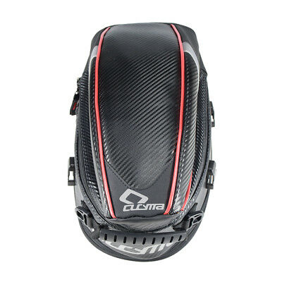 MagiDeal Motorcycle Rear Tail Seat Bag Package Back Carry Shoulder Bag