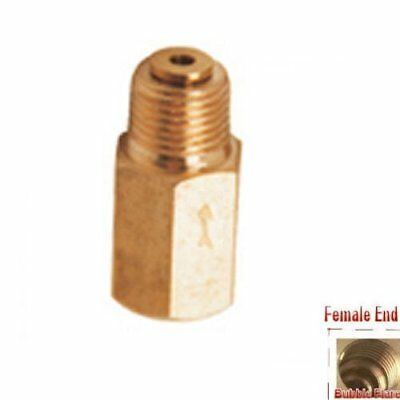 """Pipe Check Valve 1/16"""" BSP Female to 1/8"""" BSP Male One Way Fitting PP@J4"""