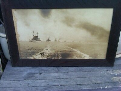 Great White Fleet Returning from the World Wide Cruise 1909
