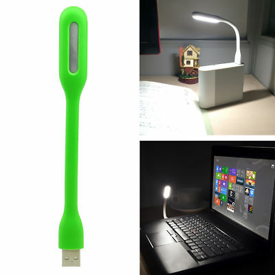 Flexible Mini Bright USB LED Light Computer Lamp for Notebook Laptop PC Reading