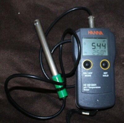 PH Mètre Digital HANNA Instruments HI991001 TBE  temperature