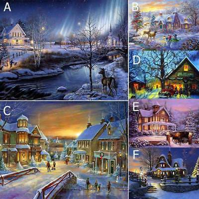 Christmas Full Drill 5D DIY Diamond Painting Kit Paint by Number Kits Home Decor