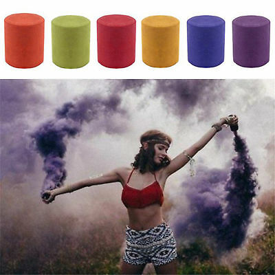 Smoke Cake Colorful Smoke Effect Show Round Bomb Photography Aid Toy Divine UP