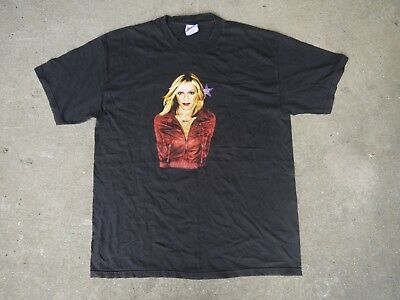 Vintage MADONNA Drowned World Tour T-shirt 2001 US Dates Large