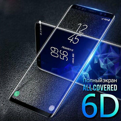 6D Screen Protector for Samsung Galaxy S7Edge/S8 S9 Plus 9H Tempered Glass  Film