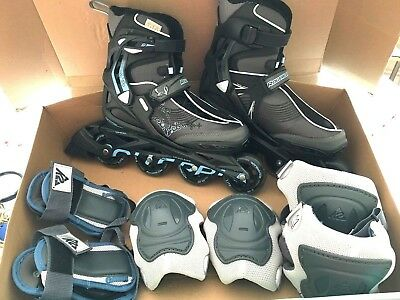 Women's Boxed Spark 80 Roller Blades Excellent Cond With Accessories Uk 6 Eu 3