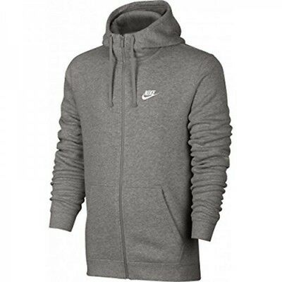 NIKE NSW OPTIC Hoodie Herren Sweatjacke 928475 021 grau Gr