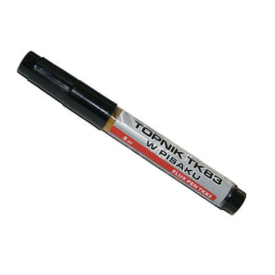 TK83 Flux Pen, Liquid Soldering, BGA/SMD/SMT/RMA Rework, Reflow, Repairs, 8ml