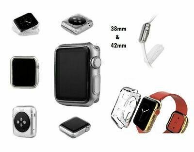 Apple Watch Case Ultra Thin Protective Clear Soft Case Gel Cover 38mm 42mm S1 S2