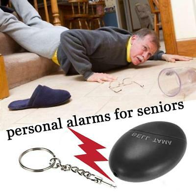 Anti-rape Alarm Loud Alert Attack Panic Keychain Safety Personal Security