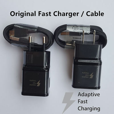 Original Fast Wall Charger USB C-Cable For Samsung Galaxy Note 8 S8 Plus S9 Plus