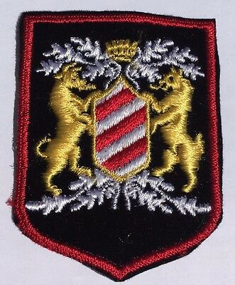 """Coat of Arms Patch-Lot of 2 (2 1/2"""" by 3"""")"""