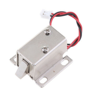 Replacement 12V Mini Electric Magnetic Lock Door Access Entry Upwards Bolt