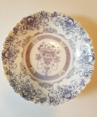 VINTAGE ARCOPAL FRANCE Honorine Blue And White 4 Soup Bowl Salad ...